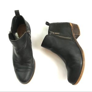 Lucky Brand women's black Basel ankle bootie sz 6